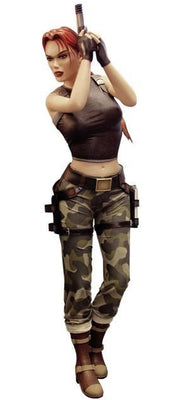 Tomb Raider Angel of Darkness Lara Croft Rare Life Size Statue - LM Treasures Life Size Statues & Prop Rental