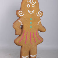 Woman Gingerbread Cookie Over Sized Statue - LM Treasures