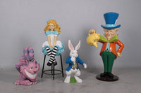 Nivens The Rabbit From Alice In Wonderland Life Size Statue - LM Treasures Life Size Statues & Prop Rental