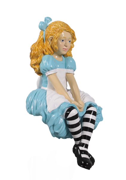 Alice From Alice In Wonderland Life Size Statue - LM Treasures Life Size Statues & Prop Rental