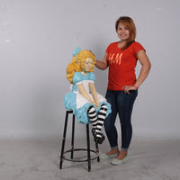 Alice From Alice In Wonderland Life Size Statue