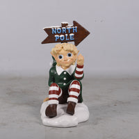Elf North Pole Display Holiday Life Size Statue - LM Treasures Life Size Statues & Prop Rental