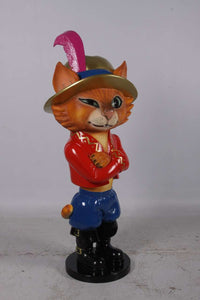 Comic Cat Standing Life Size Statue - LM Treasures Life Size Statues & Prop Rental