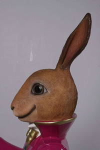 Rabbit Comic Jack Sitting Animal Easter Prop Decor Resin Statue - LM Treasures Life Size Statues & Prop Rental