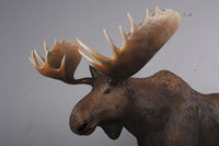 North American Moose Life Size Statue - LM Treasures