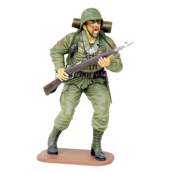 American Soldier Life Size Statue - LM Treasures Life Size Statues & Prop Rental