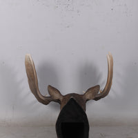 Moose Head Life Size Statue - LM Treasures