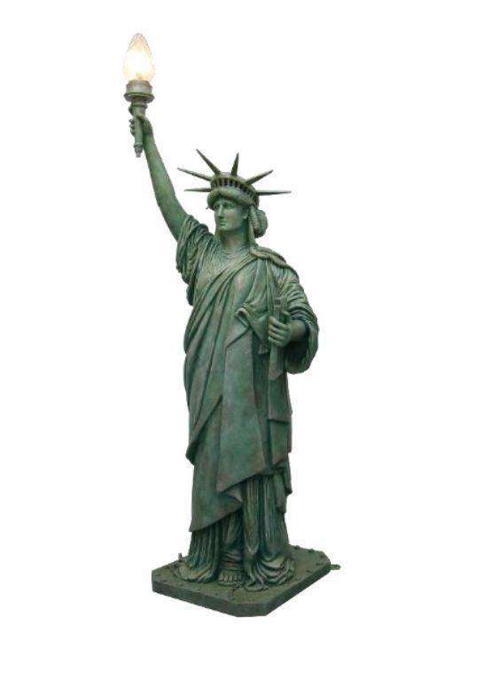 Statue of Liberty 8.75 ft Memorial Prop Deecor Resin Statue - LM Treasures Life Size Statues & Prop Rental