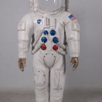 Astronaut Photo Op Life Size Space Prop Resin Decor Statue - LM Treasures Life Size Statues & Prop Rental
