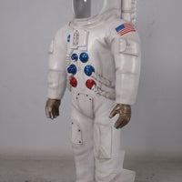 Astronaut Photo Op Life Size Space Prop Resin Decor Statue- LM Treasures