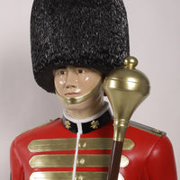 Royal Guard Artillery Officer Life Size Statue - LM Treasures Life Size Statues & Prop Rental