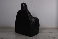 Skeleton Wraith Reaper Throne Chair Halloween Prop Life Size Resin Decor Seat Statue - LM Treasures Life Size Statues & Prop Rental