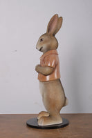 Rob The Bunny Rabbit With Short Jacket Life Size Statue - LM Treasures Life Size Statues & Prop Rental