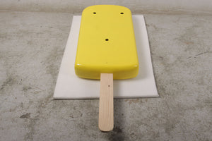 Hanging Yellow Ice Cream Popsicle Over Sized Statue - LM Treasures Life Size Statues & Prop Rental