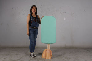 Mint Ice Cream Popsicle Over Sized Statue - LM Treasures Life Size Statues & Prop Rental
