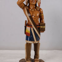 Tobacco Indian Small Statue - LM Treasures