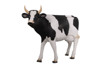 Holstein Cow Life Size Statue - LM Treasures