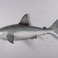 Small Great White Shark Wall Decor Life Size Statue - LM Treasures