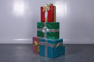 Gift Stack Photo Op Life Size Statue - LM Treasures Life Size Statues & Prop Rental