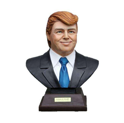 Donald Trump President of the United Statues of American Bust - LM Treasures Life Size Statues & Prop Rental