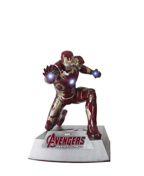 Iron Man Kneeling (MK43) Life Size Statue from Avengers: Age Of Ultron - LM Treasures Life Size Statues & Prop Rental
