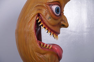 Scary Moon Halloween Prop Life Size Statue - LM Treasures