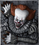 Wall Breaker Halloween IT Pennywise Plastic Licensed Statue - LM Treasures Life Size Statues & Prop Rental