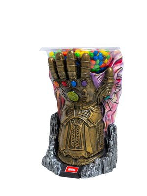 Candy Bowl Holder Marvel Infinity Gauntlet Mini Half Foam Licensed Statue- LM Treasures