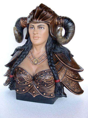 Bust Viking Roman Gladiator Armor Female- LM Treasures