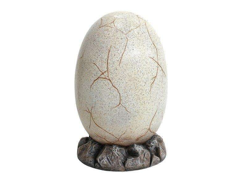 Large Dinosaur Egg On Rock Life Size Statue - LM Treasures Life Size Statues & Prop Rental