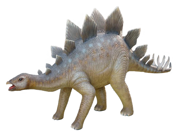 Small Stegosaurus Dinosaur Life Size Statue - LM Treasures Life Size Statues & Prop Rental