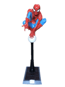 Spider Man on Light Post Life Size Statue w/ Working Light Rubie's- LM Treasures