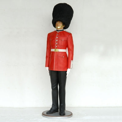 British Queen's Guard Life Size Statue - LM Treasures Life Size Statues & Prop Rental
