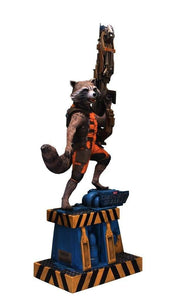 Guardians Of The Galaxy: Rocket Life Size Statue - LM Treasures Life Size Statues & Prop Rental