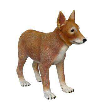 Dog Wild Coyote Puppy Animal Prop Life Size Deecor  Resin Statue- LM Treasures