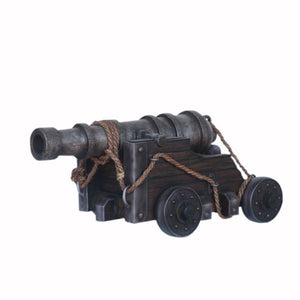 Realistic Pirate Cannon Life Size Statue - LM Treasures