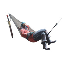 Pirate Hanging in Hammock Life Size Statue - LM Treasures