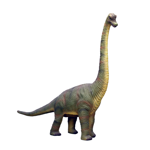 Brachiosaurus Baby Dinosaur Life Size Statue - LM Treasures Life Size Statues & Prop Rental