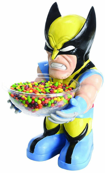 Candy Bowl Holder Marvel Wolverine X Men  Half Foam Licensed Statue - LM Treasures