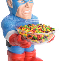 Candy Bowl Holder Marvel Captain America Half Foam Licensed Statue - LM Treasures Life Size Statues & Prop Rental