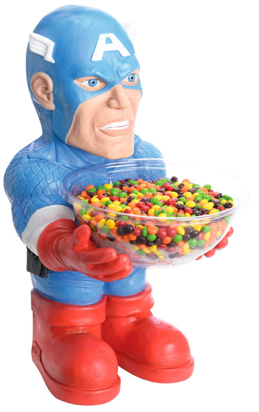 Candy Bowl Holder Marvel Captain America Half Foam Licensed Statue - LM Treasures