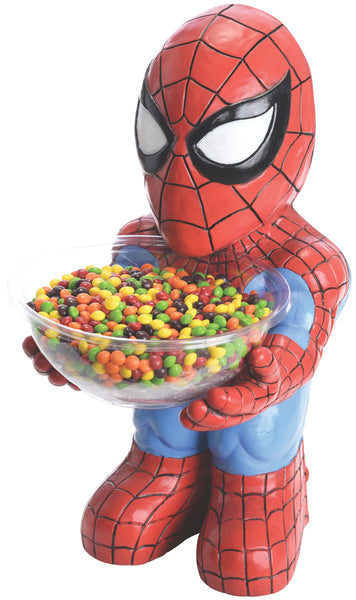 Candy Bowl Holder Marvel Spider- Man Half Foam Licensed Statue - LM Treasures Life Size Statues & Prop Rental