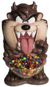 Candy Bowl Holder Warner Brothers Taz  Half Foam Licensed Statue - LM Treasures Life Size Statues & Prop Rental
