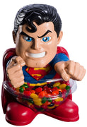 Candy Bowl Holder DC Superman Mini Half Foam Licensed Statue- LM Treasures