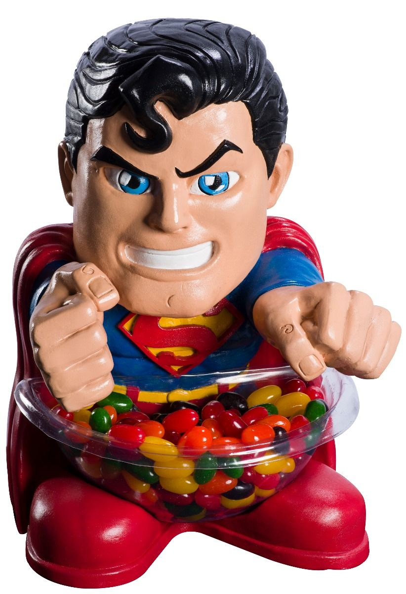 Candy Bowl Holder DC Superman Mini Half Foam Licensed Statue - LM Treasures Life Size Statues & Prop Rental