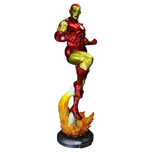 Classic Iron Man Life Size Statue Marvel Disney Rubie's Limited Edition - LM Treasures Life Size Statues & Prop Rental