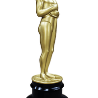 Hollywood Prop Trophy 8ft Butler Gold Movie Decor Resin Statue - LM Treasures Life Size Statues & Prop Rental