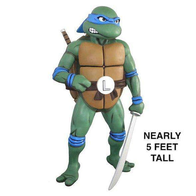 Teenage Mutant Ninja Turtles ‰ÛÒ Full-Size Leonardo Foam Replica - LM Treasures Life Size Statues & Prop Rental