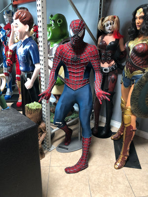 Spider-man Blockbuster Display Life Size Statue - LM Treasures Life Size Statues & Prop Rental