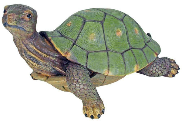 Slow & Steady Turtle Life Size Statue - LM Treasures Life Size Statues & Prop Rental